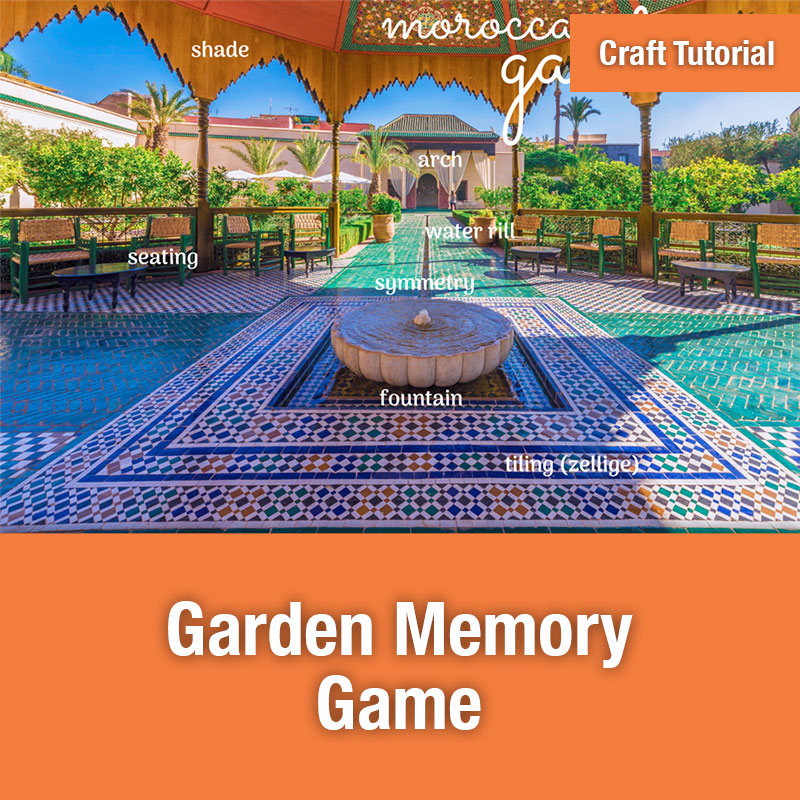 ETG Craft Tutorial | Garden Memory Game
