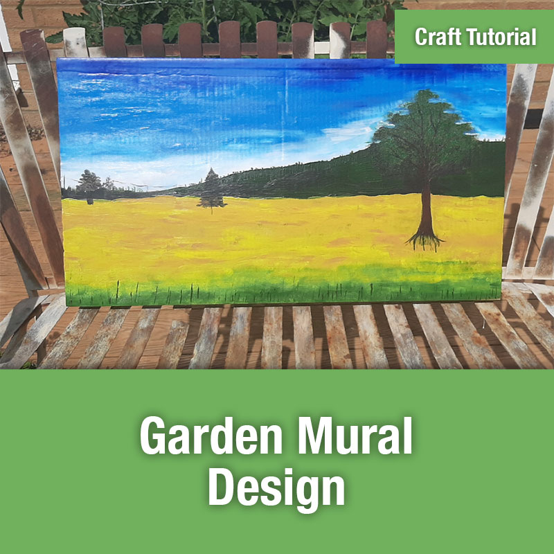 ETG Craft Tutorial | Garden Mural Design