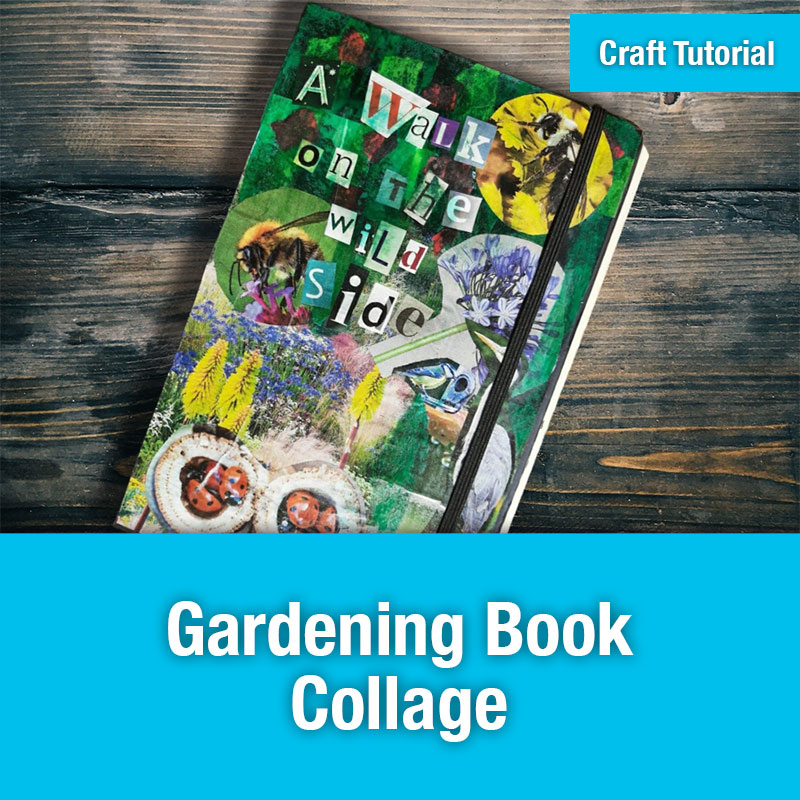 ETG Craft Tutorial | Gardening Book Collage