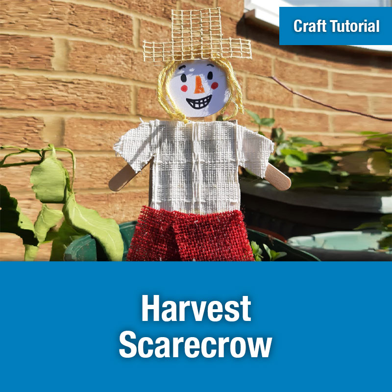 ETG Craft Tutorial | Harvest Scarecrow