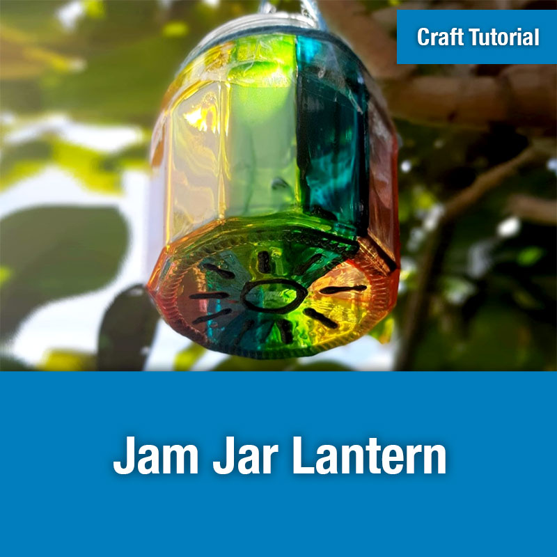 ETG Craft Tutorial | Jam Jar Lantern