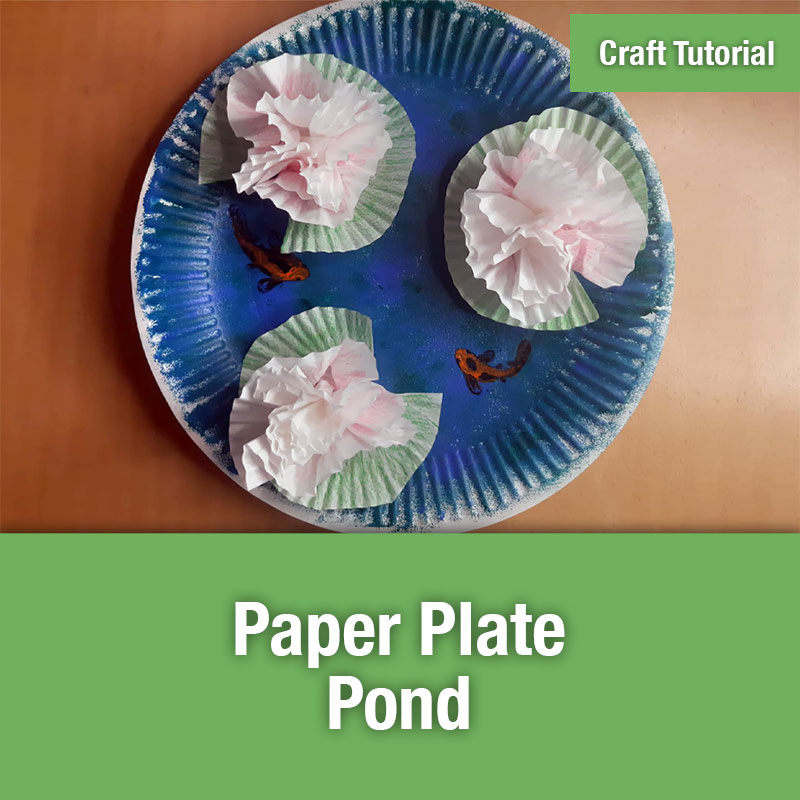 ETG Craft Tutorial | Paper Plate Pond