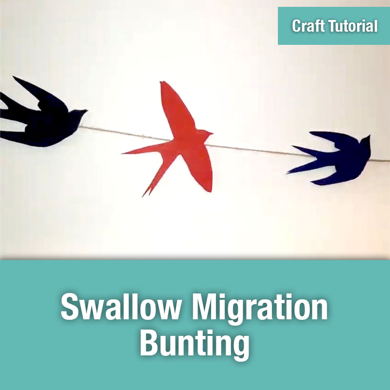 ETG Craft Tutorial | Swallow Migration Bunting