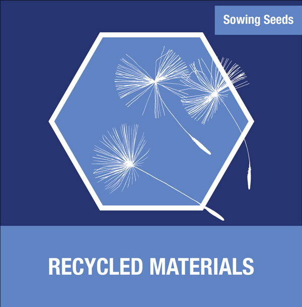 Sowing Seeds: Recycled Materials