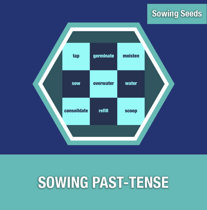 Sowing Seeds: Sowing Past-Tense