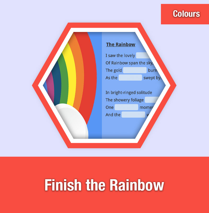 Finish the Rainbow | COL-2B | IMAGE PREVIEW