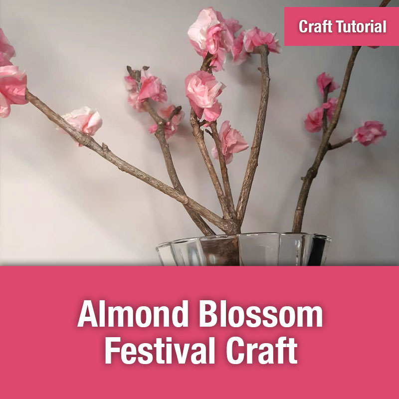 Almond Blossom Festival Craft IMAGE PREVIEW