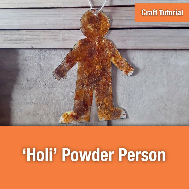 Holi Powder Person | IMAGE PREVIEW