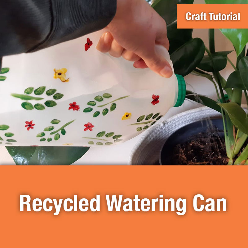Recycled Watering Can IMAGE PREVIEW