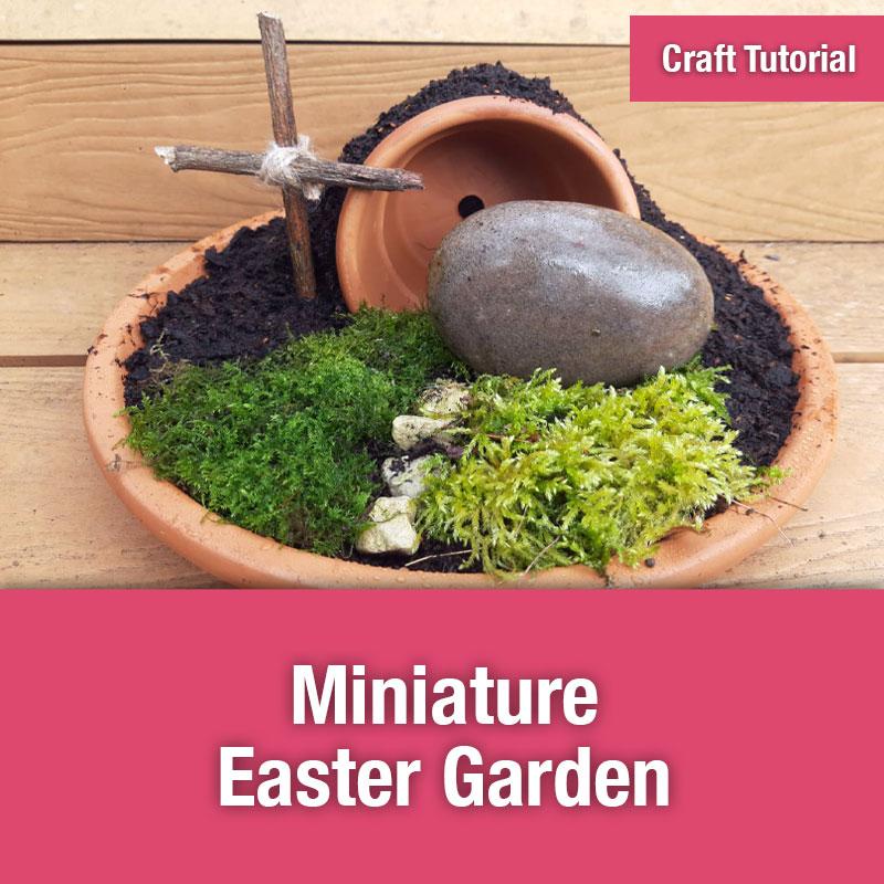 Miniature Easter Garden | IMAGE PREVIEW