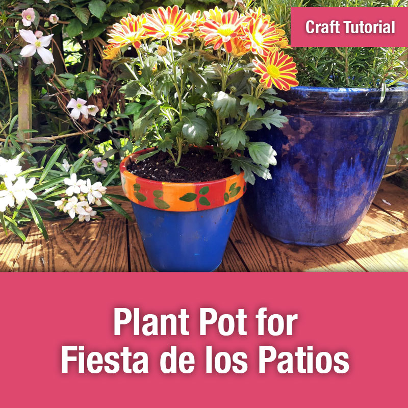 Plant pot for Fiesta de los Patios - Image Preview