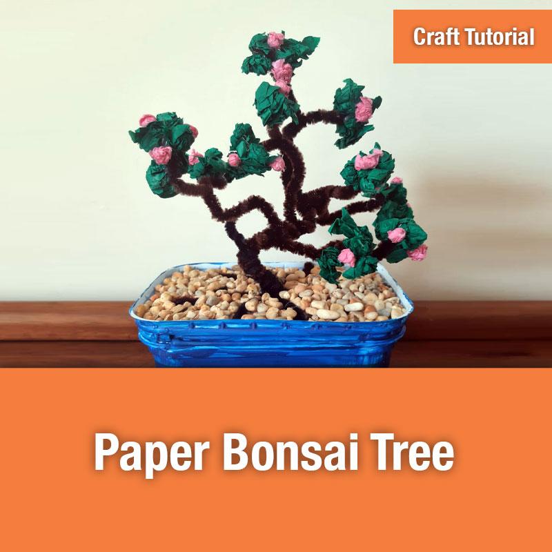 Paper Bonsai Tree IMAGE PREVIEW