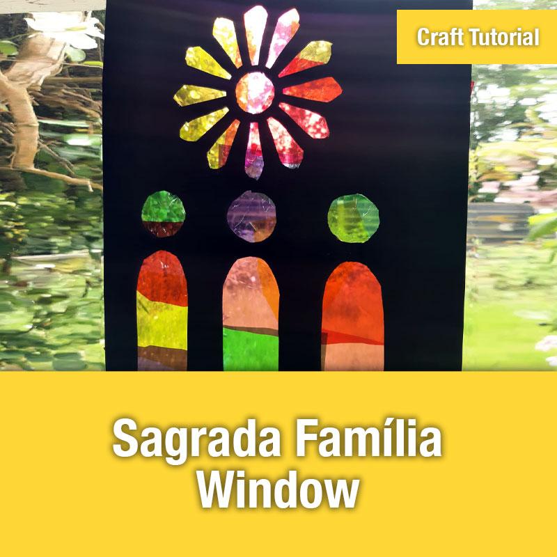 Sagrada Familia Window | IMAGE PREVIEW