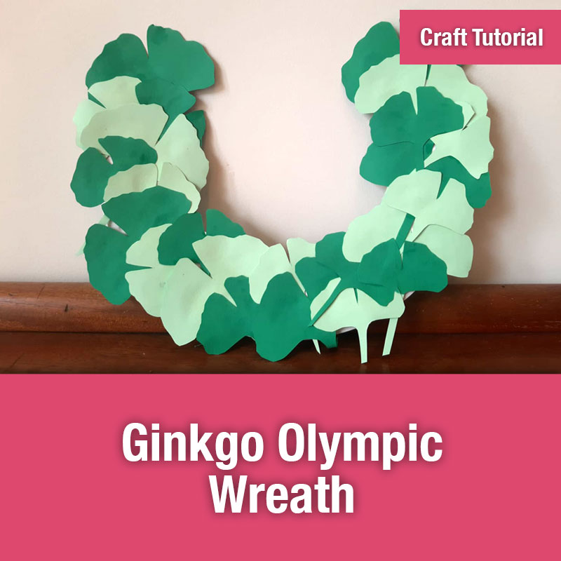 Ginkgo Olympic Wreath | IMAGE PREVIEW