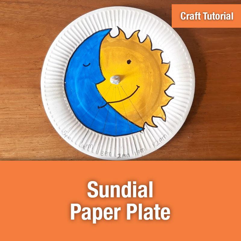 ETG Sundial Paper Plate IMAGE PREVIEW